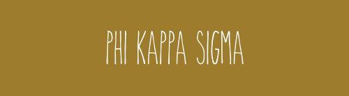 Phi Kappa Sigma