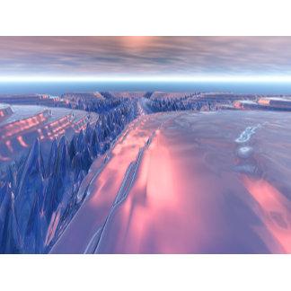 Fractal Glacier Landscape