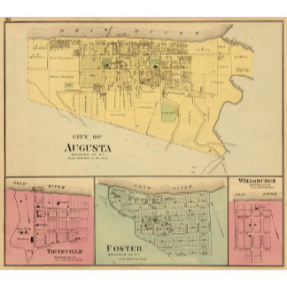 City of Augusta with Tietzville, Foster