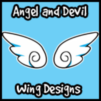 Angel and Devil Wing Designs