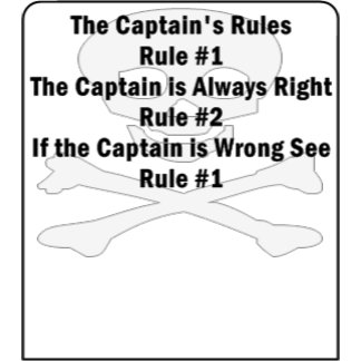Captain's Rules