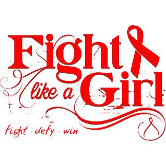 Blood Cancer  Fight Like A Girl Elegant