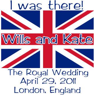 Union Jack Royal Wedding I WAS THERE Tee