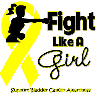 Bladder Cancer Fight Like A Girl Knock Out