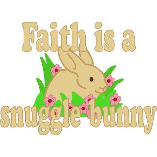 Faith is a Snuggle Bunny