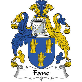 Fane Family Crest / Coat of Arms