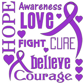 Epilepsy Hope Words Collage