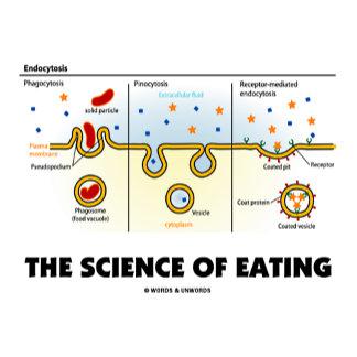 Endocytosis (Eating Cellular Level Humor)