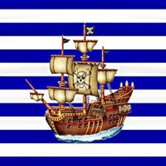 Striped Pirate Ship