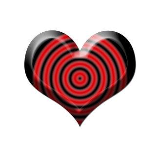 Bullseye Heart