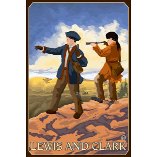 Lewis and Clark Exploring the West