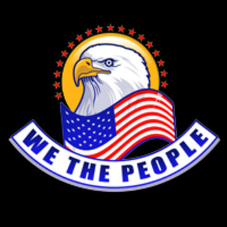 We The People Blue Banner