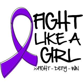 Leiomyosarcoma Fight Like a Girl Ribbon