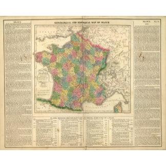 France Chronology Map