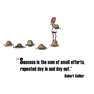 Success is Sum of Small Efforts