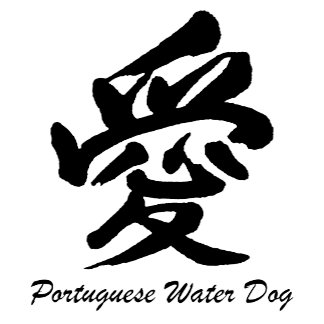 Love Portuguese Water Dog