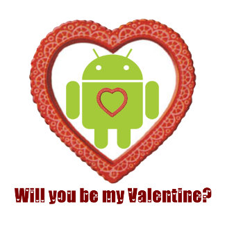 Will You Be My Valentine? (Android Lover / Fan)