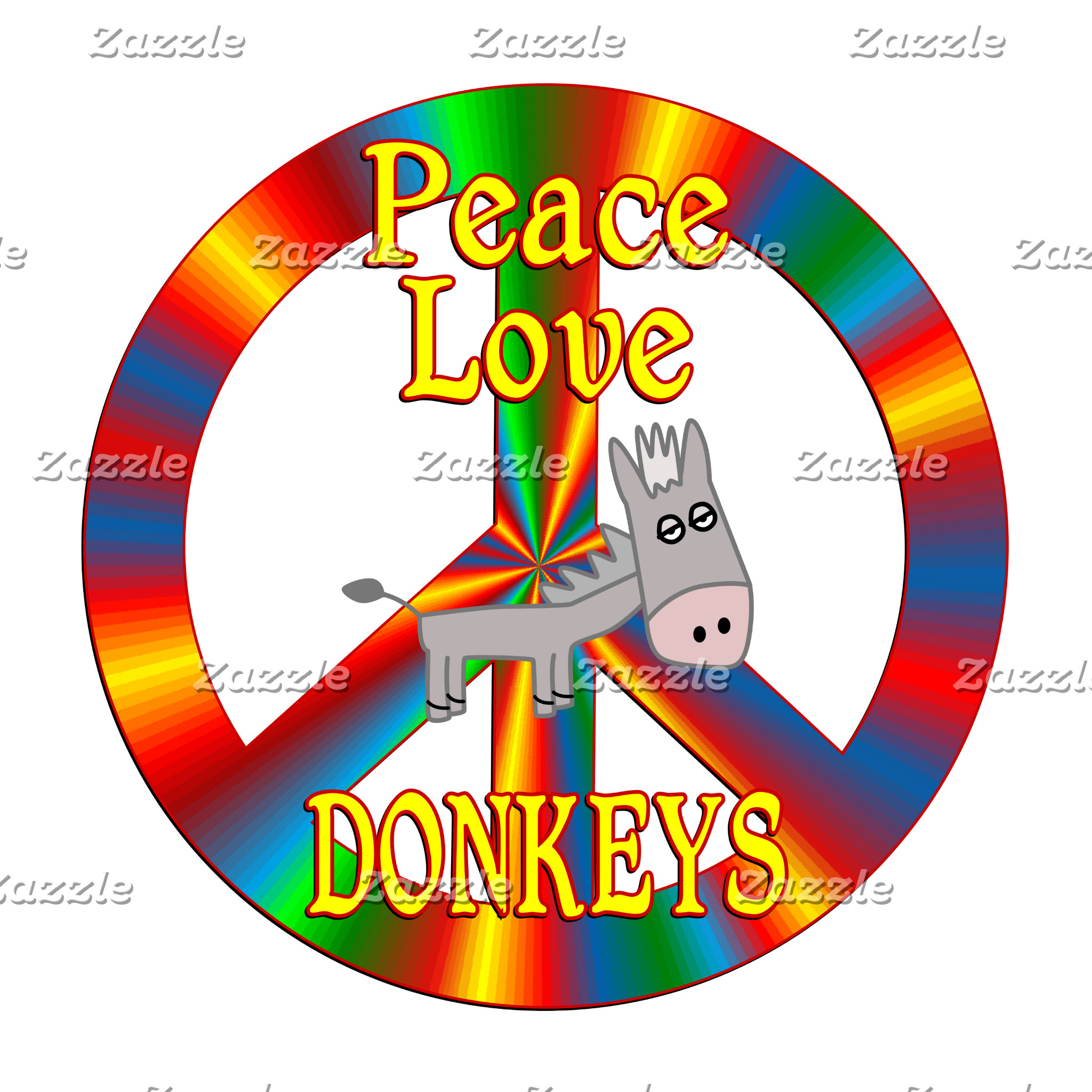 Peace Love Donkeys