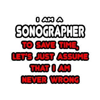 Funny Sonographer T-Shirts and Gifts