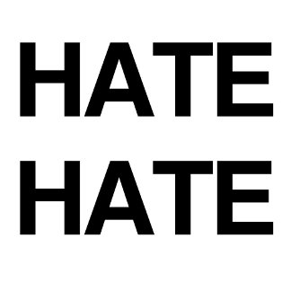 HATE HATE