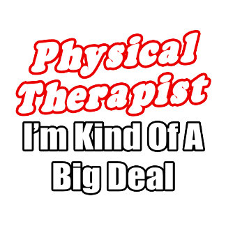 Physical Therapist...Kind of a Big Deal