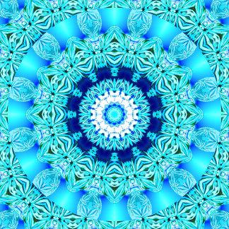 Blue Ice Angel Ring