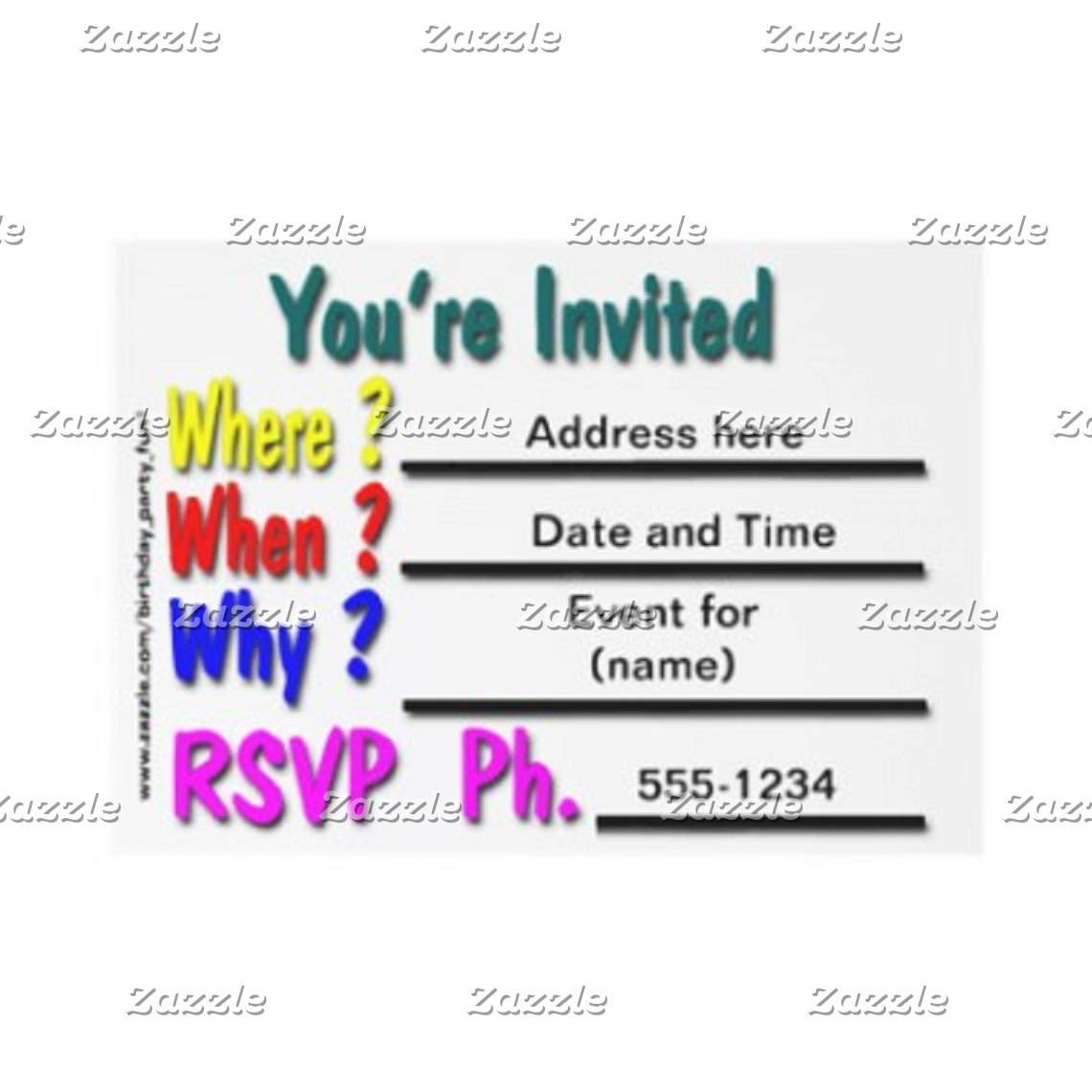 Invitations and Mailing
