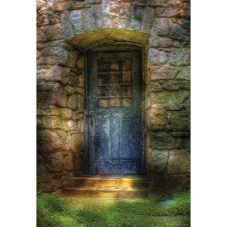 Door - A rather old door leading to somewhere