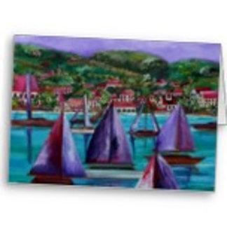 Cards: Caribbean/Tropical Themed