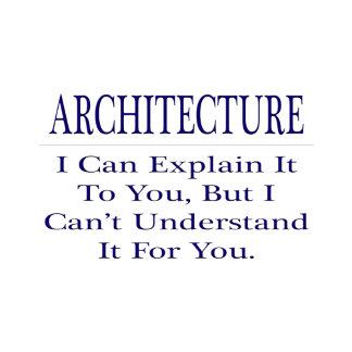 Architect Joke .. Explain Not Understand