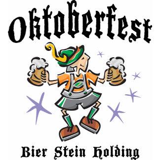 Bier Stein Holding Oktoberfest T-Shirt