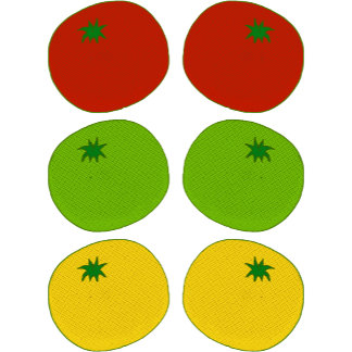 ➢ Red, Green & Yellow Tomatoes