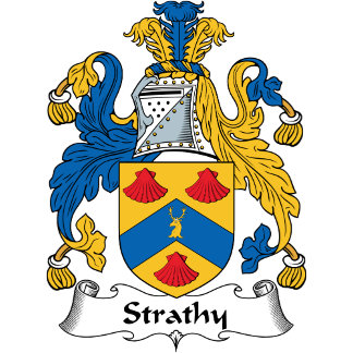 Strathy Family Crest