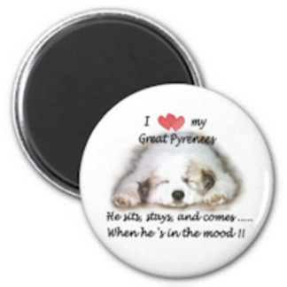 004 Great Pyrenees Magnets