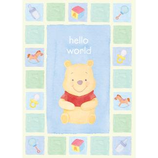 "Winnie The Pooh's ""Hello World"" Baby Pooh"