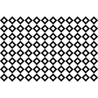 White and Black Diamond Pattern