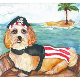 Captain Bacon,  Pirate Dog