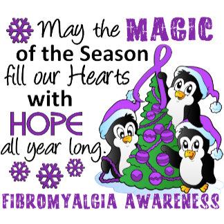 Christmas Penguins Fibromyalgia