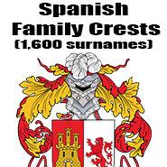 Spanish Family Crests