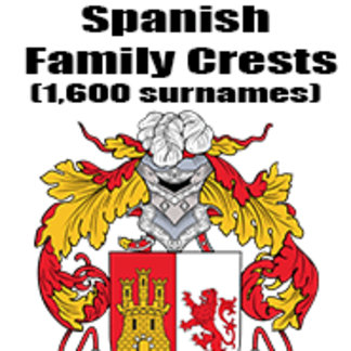 Spanish Family Crests