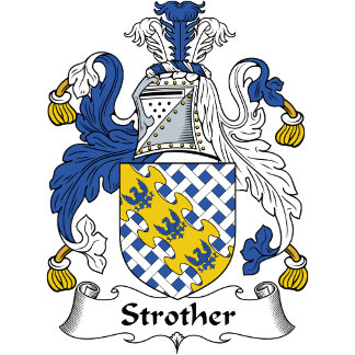 Strother Family Crest