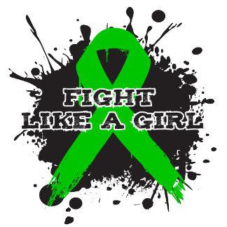 Fight Like A Girl Splatter - Cerebral Palsy