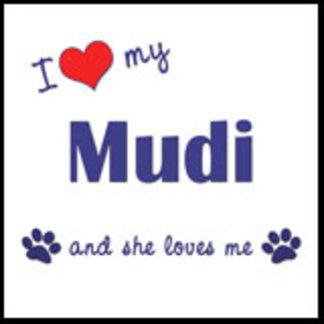 I Love My Mudi (Female Dog)