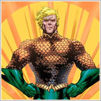 Aquaman Standing
