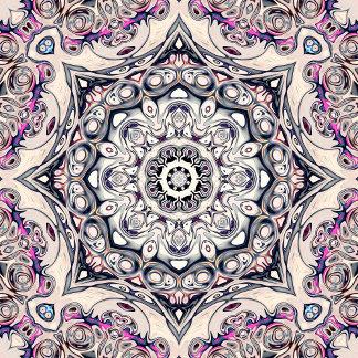 Abstract Octagonal Mandala
