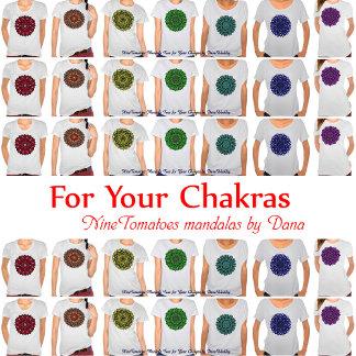 Chakra Tees