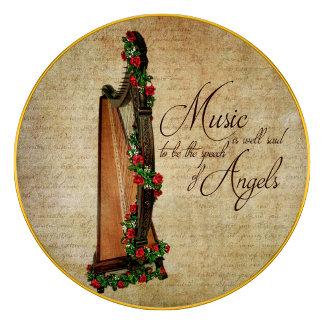 Irish Rose Harp
