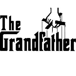 The Grandfather in Godfather Font