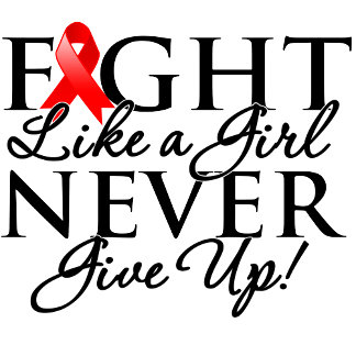 Blood Cancer Fight Like a Girl Never Give Up