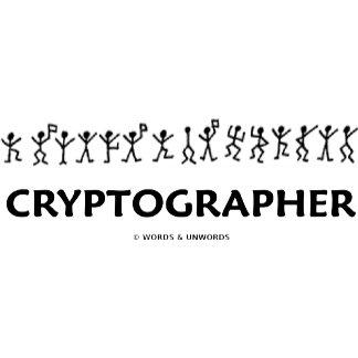 Cryptographer (Dancing Men Stick Figures)